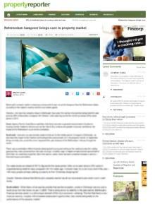 Edinburgh PR agency gets coverage for property solictors