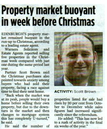31 DEC The Edinburgh Evening News PAGE 14 CROP