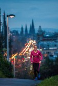 Public relations agency uses PR photographs to gain coverage for Edinburgh hotels new running club