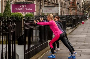 Hotel running club uses PR photography to get coverage