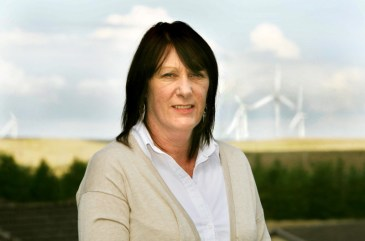 Renewable Firm use PR Photography to find Turbine Fans