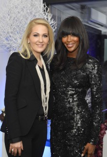 Edinburgh PR agency PR campaign gains coverage for Naomi Campbell who is tackling Ebola With Hospital Project
