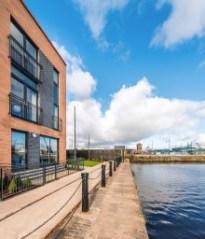 Cala Homes Albert Dock Edinburgh PR Client