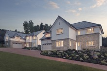 PR Agency in Edinburgh promotoe housing development for CALA Homes East