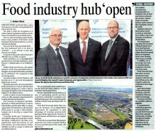 The Courier coverage for food and drink pr story