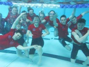 Orkney Swim Team Underwater