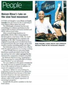 Coverage in the scotsman for food and drink pr story