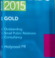 Scotland's Outstanding Small PR consultancy