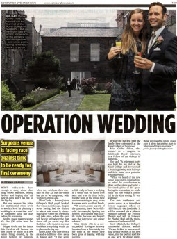 PR coverage by Scottish Agency in Edinburgh Evening News