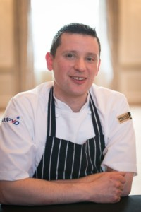 Tom Beauchamp of Sodexo poses for food and drink pr story