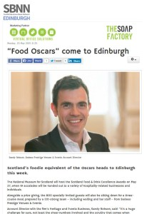 Sodexo coverage-food and drink pr