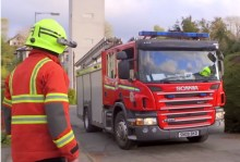 PR video of firefighters training in Blackwood care home