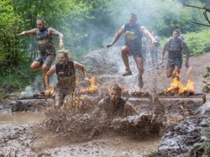 The bbq Obstacle © 2015 TOTAL WARRIOR.