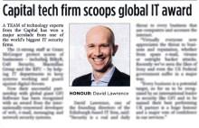 Tech PR success for Scottish IT firm Grant McGregor