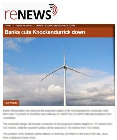 RENEWS media coverage of knockendurrick