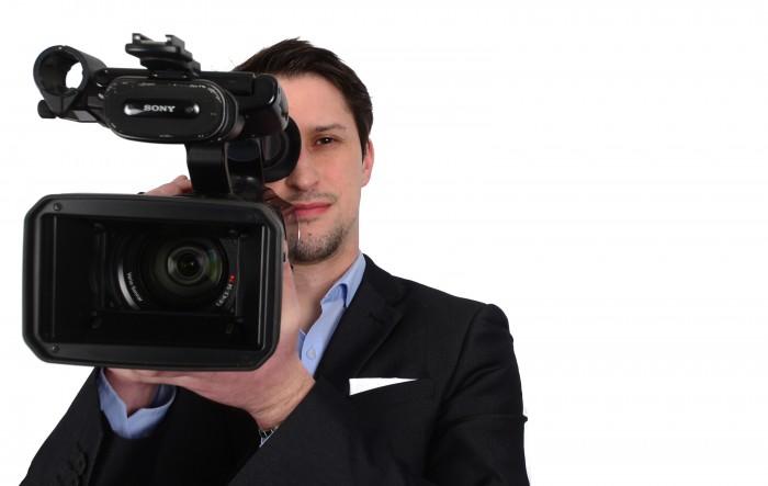 Holyrood PR videogrpahy expert, Craig Sinclair