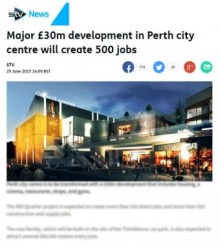 STV IIP Perth coverage £30 million development