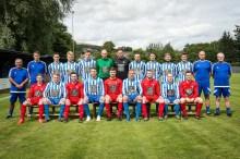 Super league team brandish sponsor strip in first league game