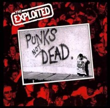 Punks Not Dead artwork from The Exploited