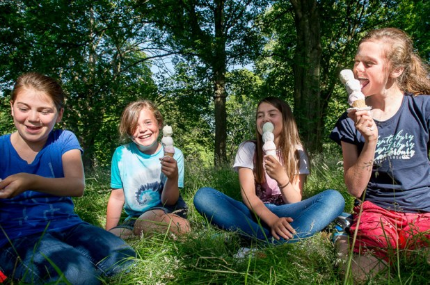 Floral ice cream flavours launched at Royal Botanic Garden Edinburgh