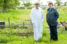 Donation to local beekeepers hit local headlines with PR photography
