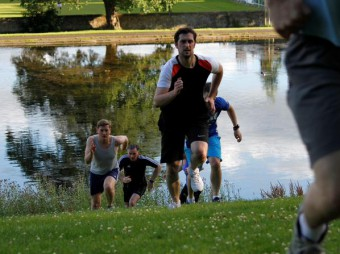 Holyrood PR agency in Edinburgh take on Scottish Government Marketing Team in a Mini Total Warrior Challenge