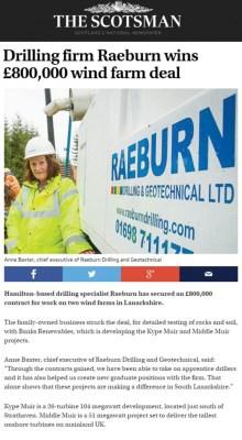 Banks PR Coverage Holyrood Edinburgh PR Agency in Scotland