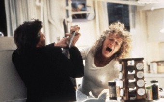 Glenn close played a dangerously obsessed character in Fatal Attraction