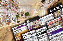 Hotel PR coverage post of Tigerlily Edinburgh.