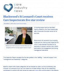 03 DEC www.careindustrynews.co.uk EDIT