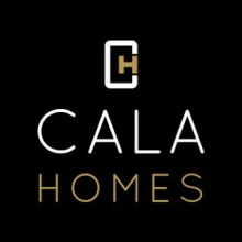 Cala Holmes logo. CALA Homes works with property PR agency Holyrood PR in Scotland