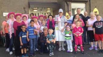 Community fundraising - fancy dress