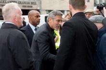 George Clooney visiting top Edinburgh restaurant Tigerlily, involving food and drink PR experts, Holyrood PR in Scotland