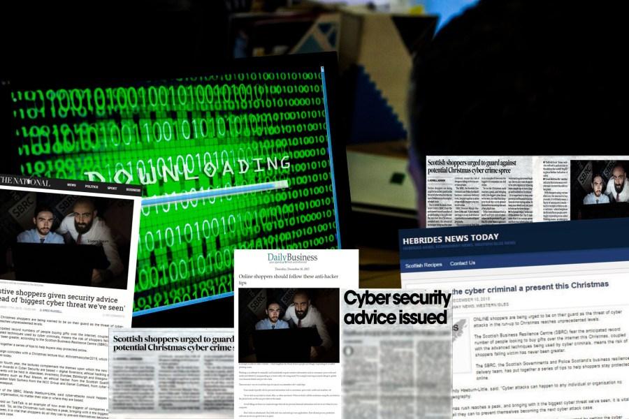 CYBER CRIME PR SUCCESS MONTAGE FOR SBRC FESTIVE WARNING 2015