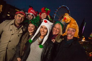 Holyrood PR bring festive fun to Edinburgh German Market