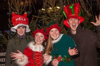 Holyrood PR bring festive fun to Edinburgh German Market