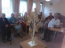 Bield care home residents, feature in a story by care PR experts Holyrood PR in Scotland