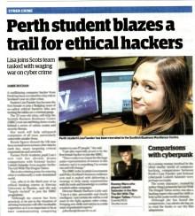 PR coverage for SBRC Agency in Edinburgh