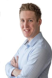 Chris Fairbairn works with award winning public relatons agency, Holyrood PR in Edinburgh