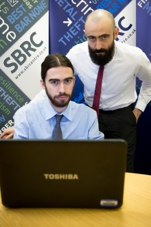 Tech PR photo of ethical hackers employed by SBRC