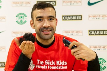 Liam Fontaine Sick Kids Friends Foundation Beard Shave