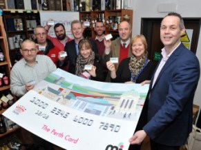Invest In Perth Gift Card Colin Munro