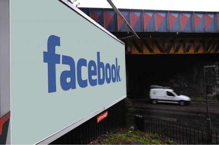 Facebook billboard for Digital PR Post