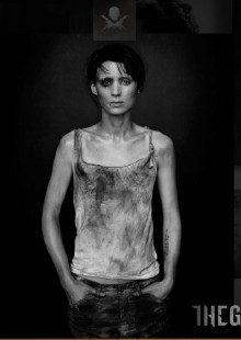 American actress Rooney Mara playing the role of Lisbeth Salander in The Girl With the Dragon Tattoo