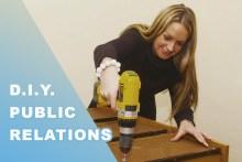 DIY PR - Lady with a drill