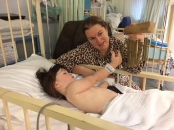 Ward 6 - Myla Smart & mum Leanne