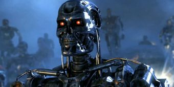 A terminator robot, operate by Skynet