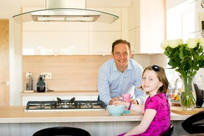 Happy family have found their dream home at CALA Homes Craigpark