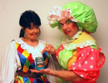 Scottish PR publicise panto