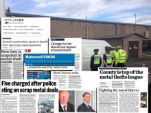 PR in Scotland generates great coverage for business client featuring press cuttings